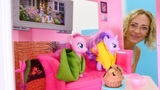 MyLittle Pony auf Deutsch. Nicoles Hotel. Spielzeugvideo f
