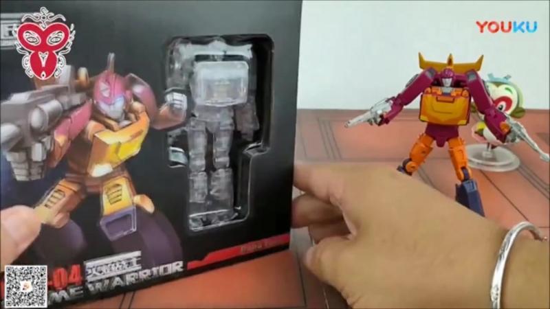 Papa Toys PPT 04 Hot Break Hot Rod Rodimus Prime