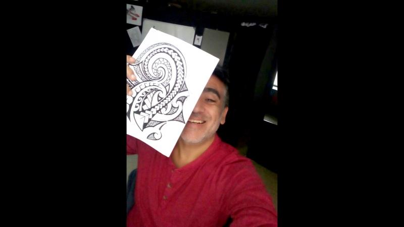 Приходите на татуировку в Studio Elite Tattoo.(Полинезийский дизайн, с глубоким и сильным смыслом)