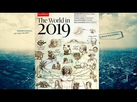 Was passiert 2019 Versteckte Botschaften im Economist-Cover