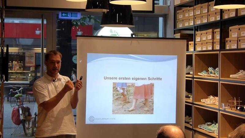 Ballengang Vortrag in der Bär Filiale, Köln 2015 Die Logik des Gehens