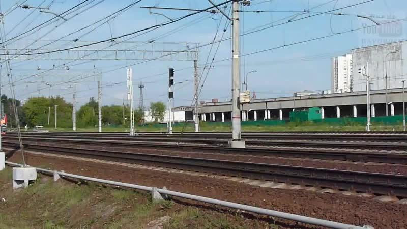 Steam Locomotive Паровоз П36-0120 пришёл третьим в Кусково 18.mp4