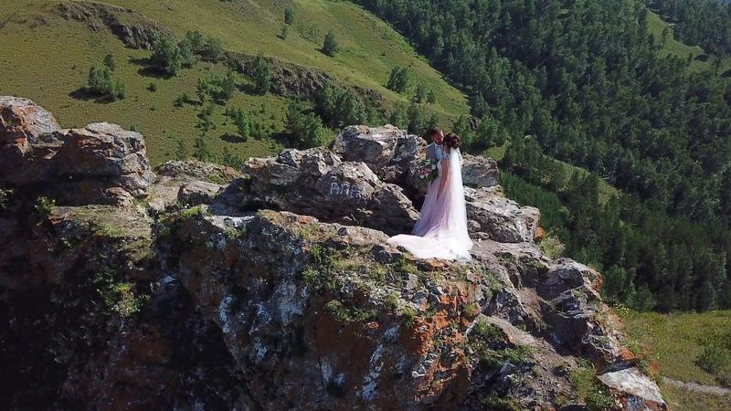 Аэросъемка свадеб в Красноярске