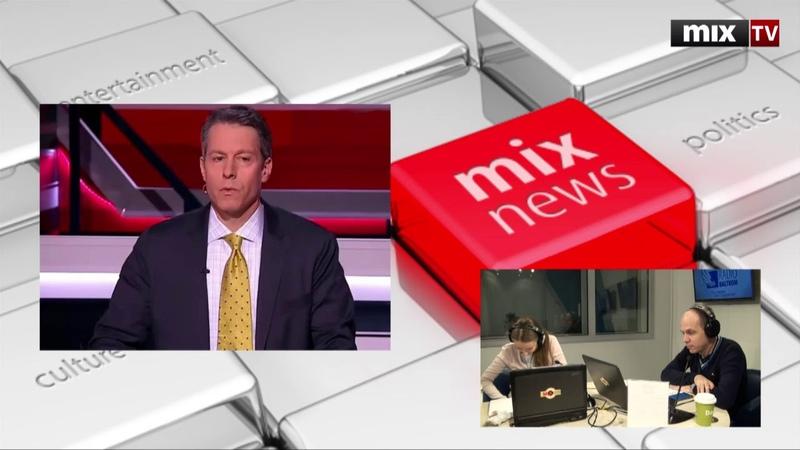 Американский журналист Майкл Бом в программе Абонент доступен MIXTV