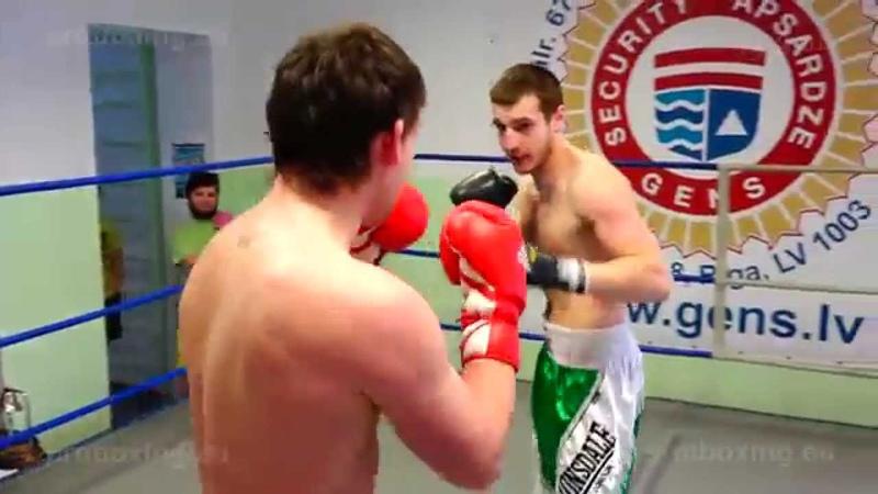 29.01.2015 Ivans Ļevickis (LAT) VS Konstantins Jurkovs (LAT) proboxing.eu
