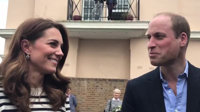 William Kate say they look forward to meeting babysussex Wills We're absolutely thrilled look forward to seeing them in the nex
