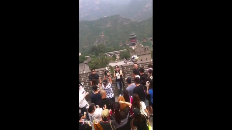 2014.8.29 the Great Wall - 张根硕 - 장근석 - チャングンソク- Asiaprince_jks
