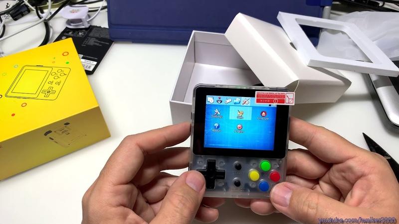 ГадЖеТы достаем из коробки портативный эмулятор старых игровых консолей LDK Linux Retro Games