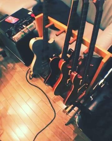 """NOISEMAKER HIDE on Instagram ギターレック いい感じ、ちょっとだけ動画を guitar recordingstudio mesaboogie fillmore50"""""""