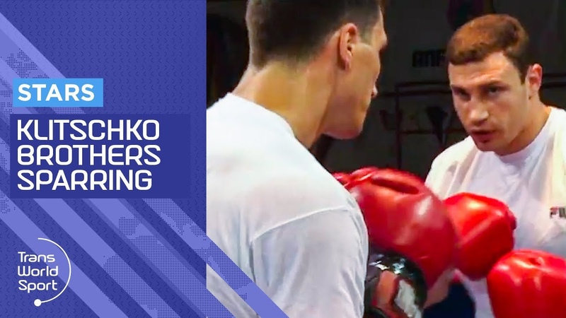 KLITSCHKO BROTHERS SPARRING | Exclusive Raw Training Footage | Trans World Sport
