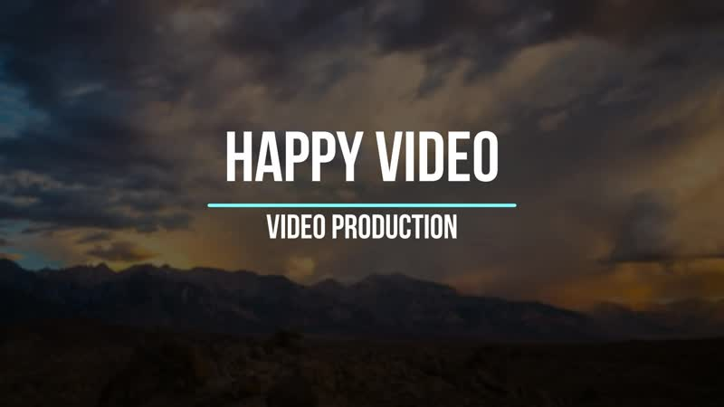 Happy Video. Трейлер
