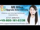 Wie MS Office Upgrade Unterstützung 0-800-181-0338 wählen