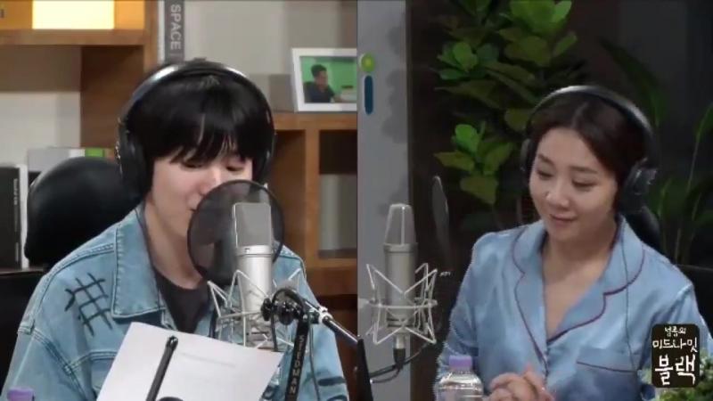 [140918] Сонджон говорит о Сонгю на радио Midnight Black