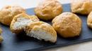 Вкусная закуска для праздничного стола Гужеры эклеры с сырным соусом