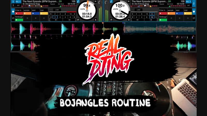 Real DJing Сибирь х AIR Shock - Bojangles Routine (Tutorial)