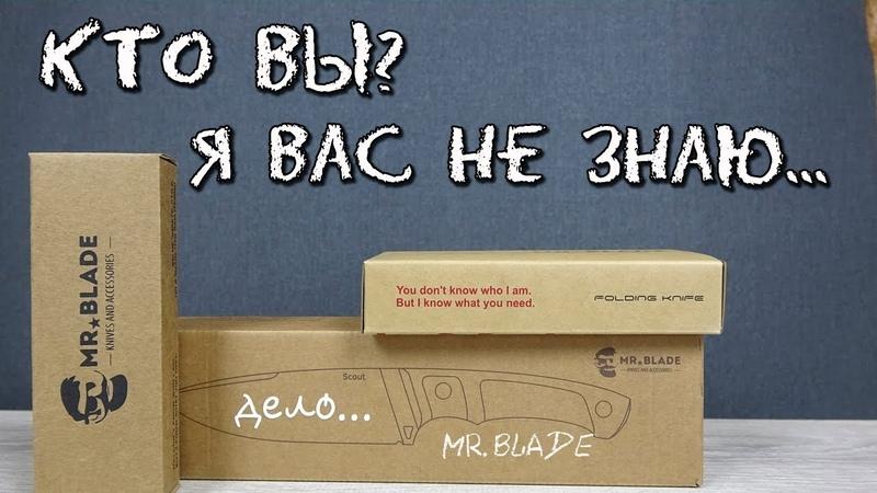 Знакомство с ножами Mr Blade Тактика Кухня Городской EDC