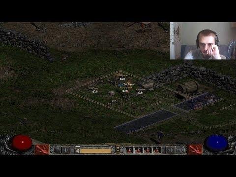 Стрим Old School games (DIABLO 2 Full Walkthrough Sorceress Первый акт) (27.10.2018)