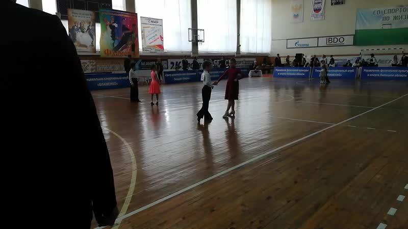 6 танцев Настя и Саша Кубок Петра Великого