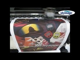 100gsm Sticky Sublimation Paper Test Printed by Mimaki Jv33-160 Wide Format Printer