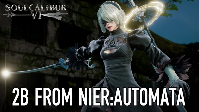SOULCALIBUR VI PS4 XB1 PC 2B from NieR Automata Guest character announcement trailer