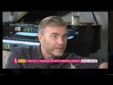 Gary Barlow on Lorraine 09-10-18