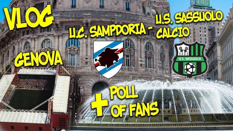 Genova. Sampdoria - Sassuolo Calcio Serie A LUIGI FERRARIS
