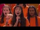 Прекрасные голоса детского хора заработали золотую кнопку на шоу талантов
