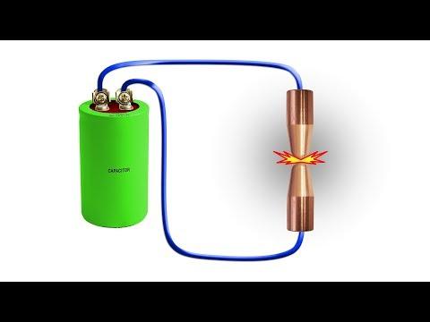 Импульсная точечная сварка с регулируемой энергией импульса