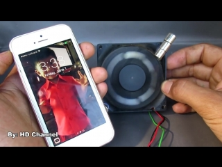 Free energy Mobile phone charger by magnets with fan computer - Awesome idea 201