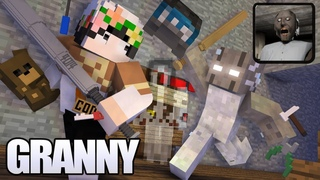 Granny horror game survival (Full part)   Minecraft Animation