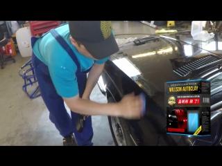 Мелкоабразивная японская глина для восстановления ЛКП авто