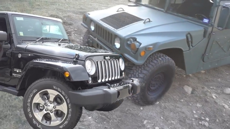 I bought a Jeep Wrangler and my fellow serviceman bought a Military Humvee. Which car is best?