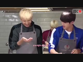I love seeing them cook and having the time of their life when they make dishes and share them with each other