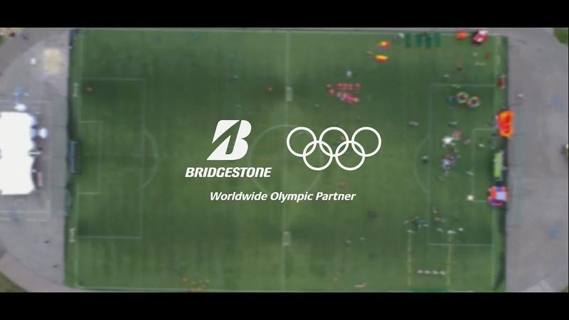 Большой спортивный праздник. Олимпийская команда BRIDGESTONE