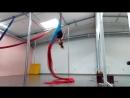 воздушные полотна. Aerial Silk. связка