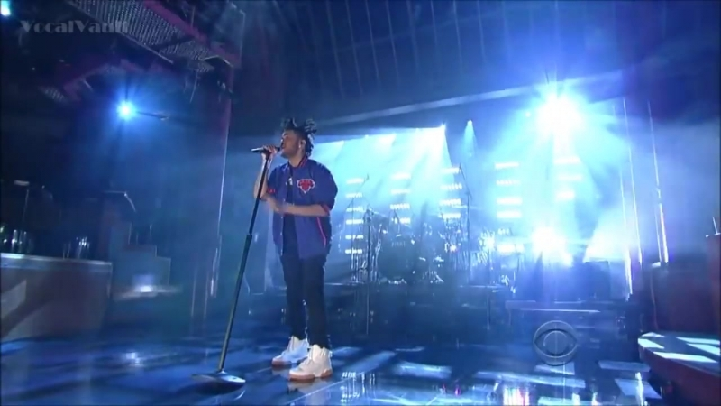 The Weeknd - Pretty (Live) | Late Show With David Letterman