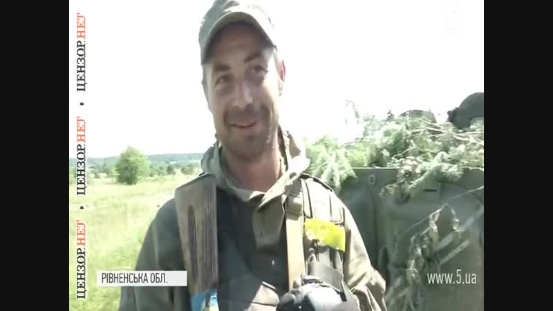 Во вторник от пули снайпера под Волновахой погиб воин 128-й ОГПБр Александр Ур