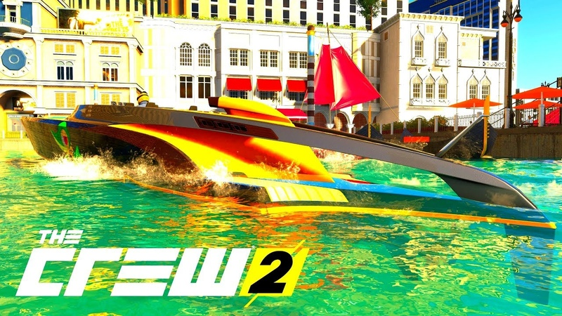 THE CREW 2 GOLD EDiTiON (TUNiNG) AEROBOAT SV-12 PART 555 ...