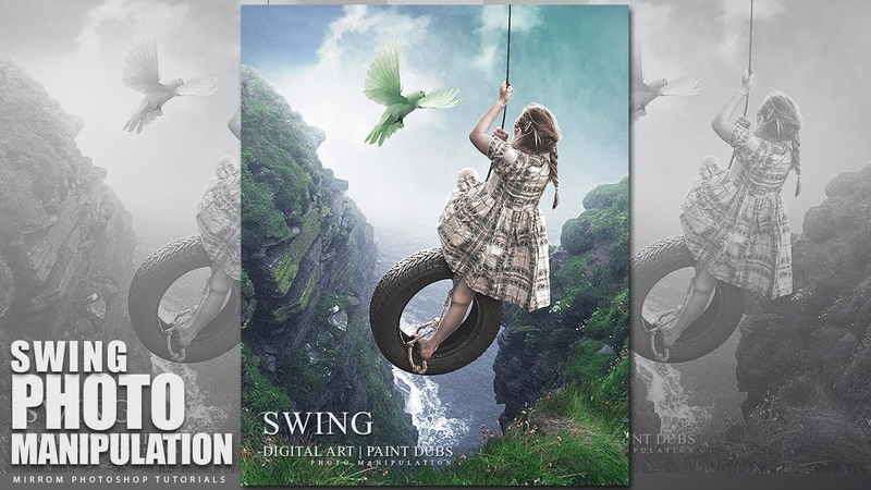 Create This Swing Photo Manipulation Effect In Photoshop