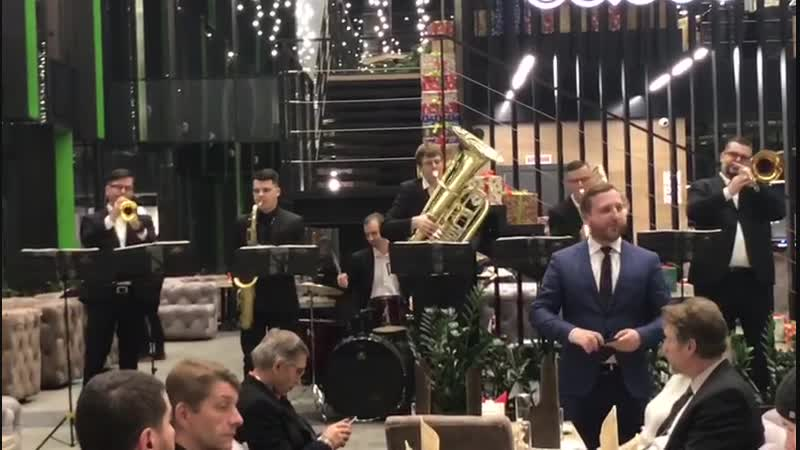 BOOM BRASS BAND - кавер группа на духовых!!