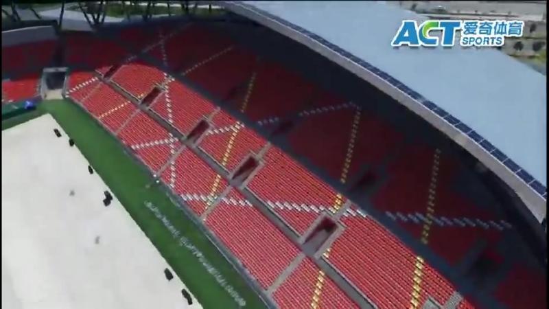 ACT stadium seatings