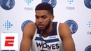 FULL Karl Anthony Towns talks Jimmy Butler saga 'awkward' timing of new deal more ESPN