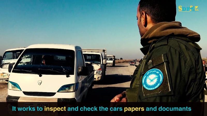 Контрольно-пропускные пункты ISF в Ракке граница безопасности