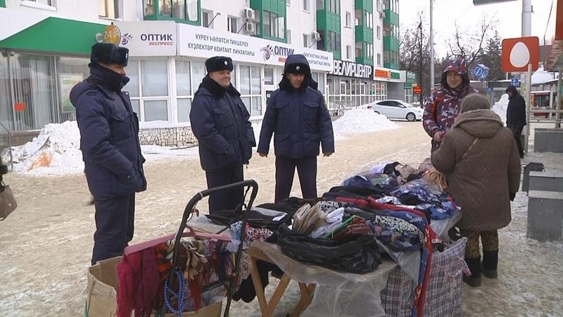 UTV. Уличная торговля под запретом В Уфе продолжается противостояние сотрудников ЦОБ и продавцов