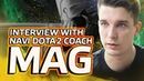 Interview with NAVI Dota2 Coach Mag