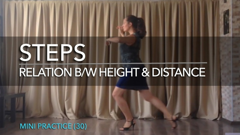 Steps: relation b/w height distance - Mini Practice (30)