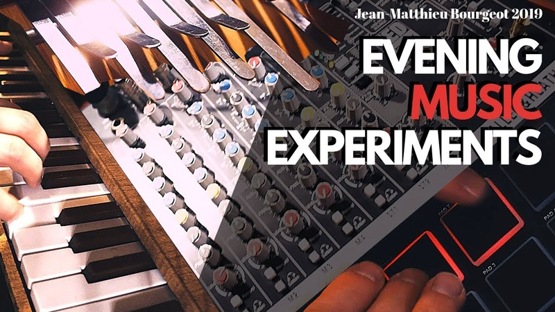 EVENING MUSIC EXPERIMENTS!! Live Loops | Toy Piano | Beats | Kalimba | Bass | FX
