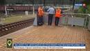 Новости на Россия 24 • В Москве на станции Перово попали под электричку трое мужчин. Один погиб