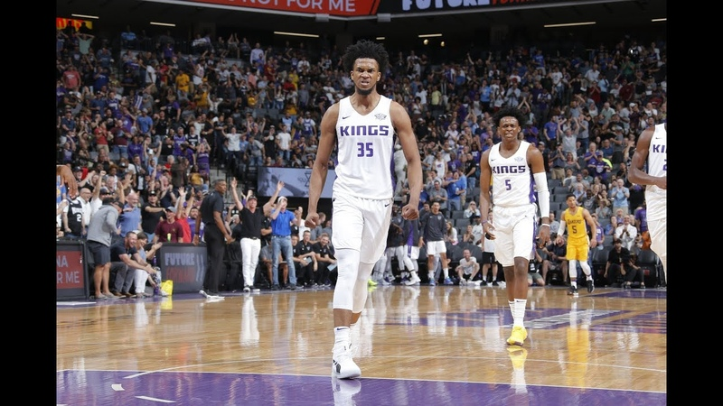Marvin Bagley III posterizes the Lakers in NBA debut