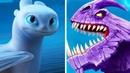 5 новых драконов, которые появятся в Как приручить дракона 3